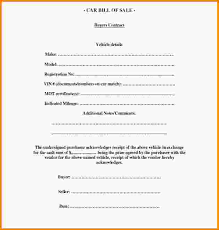 Free Sle Of Bill Of Sale For Used Car by Car Bill Of Sale Template Used Car Bill Of Sale Template Jpg