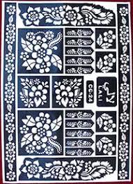 henna tattoo schablonen für hände füße schulter und dekolleté
