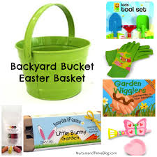 easter basket for two nature themed easter basket ideas nurture and thrive