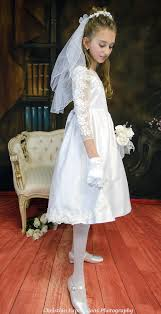 communion dresses sleeve communion dress satin organza