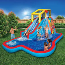 your own backyard waterslide bedtime math daily math images with