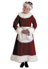 mrs claus costumes mrs claus costume with apron christmas costumes