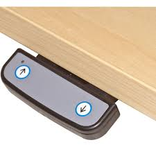 Electronic Height Adjustable Desk by Deskrite 300 Sit Stand Cockpit Desk From Posturite
