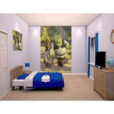 walltastic 60 in h x 96 in w shrek wall mural wt43084 the home w shrek wall mural