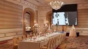 Wedding Table Set Up Park Hyatt Saigon Photo Gallery Videos Virtual Tours Ballroom