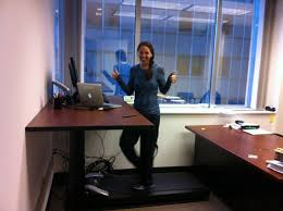 Standing Treadmill Desk by Photo Gallery Treaddesk Treadmill Desks