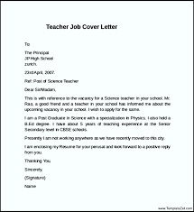 28 cover letter teacher job cover letter example for job 13
