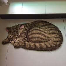 Cat Area Rugs Deck Your Floors With Sleeping Kitties Petslady Com