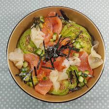 ma p tite cuisine by chirashi au saumon avocat concombre poke bowl and foods