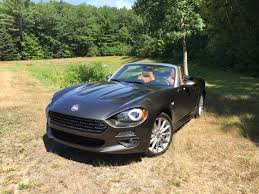 fiat roadster on the road review fiat 124 spider roadster the ellsworth