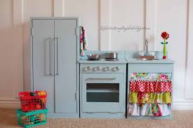 Pretend Kitchen Furniture Remodelaholic Beautiful Kids Play Kitchen By The Crafting