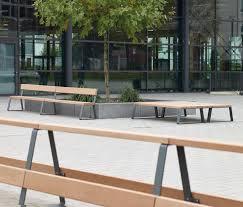campus levis bench designer exterior benches from westeifel