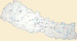 Where Is Nepal On The Map by Rafting Rivers Of Nepal River Map Of Nepal Nepal Rafting