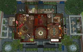 Victorian Floorplans Mod The Sims Victorian Manor No 1