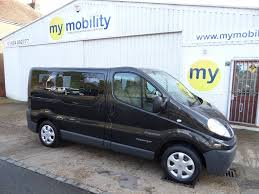 renault trafic 2010 used 2010 renault trafic 5 seat wheelchair scooter accessible mpv