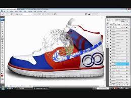 customize sneaker in photoshop design tutorial nike dunk youtube