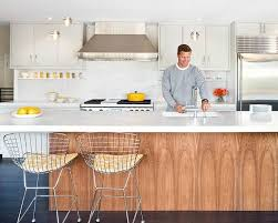white and wood cabinets 10 inspiring kitchens with wood cabinets and white countertops kitchn