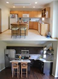 is it better to refinish or replace kitchen cabinets replace kitchen cabinets 37 before and after exles