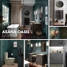 the bold look of kohler asana oasis bathroom