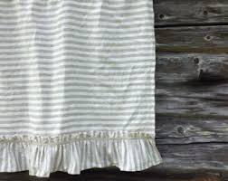 linen cafe curtain white linen curtain panel french country