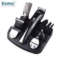Alat Cukur kemei600 6 in 1 rambut pemangkas rambut clipper alat cukur listrik