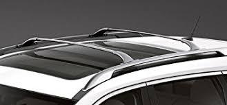 Car Top Carrier Cross Bars Amazon Com Brightlines 2014 2017 Nissan Rogue Roof Rack Cross