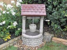 wishing well garden ornament ebay