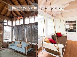 swing bed hanging the porch companythe porch company