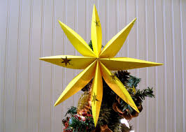 Star Home Decorations by Perfect Origami Christmas Tree Star 58 In Home Decor Ideas With