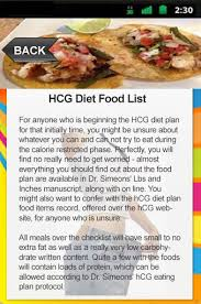 hcg diet food list apk download hcg diet food list 0 1 free