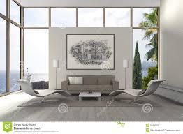 modern mediterranean seaside living room stock photo image 50463802 living mediterranean modern