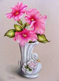 drawn vase pencil drawing pencil and in color drawn vase pencil
