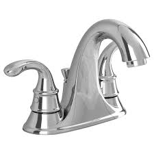 Bathtub Faucet Height Standard Harrison 2 Handle 4 Inch Centerset Bathroom Faucet American Standard