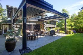 Pergola With Movable Louvers by Louvered Roof Adjustable Pergola Gallery