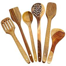 amazon com itos365 handmade wooden spoons for cooking and serving