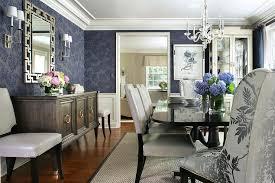Dark Blue Dining Room Rug Design Ideas - Blue and white dining room