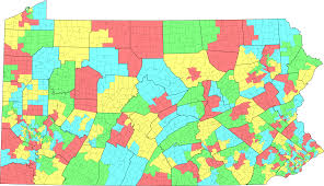 pennsylvania state map file pa state house districts by muni 2003 svg wikimedia commons