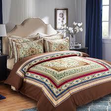 Zen Bedding Sets Click To Buy Cotton Polyester Bohemia Stripe Bedding Set For