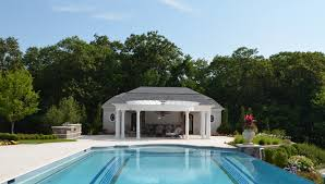 outdoor pool house ideas