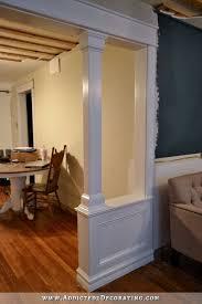 best 25 half walls ideas on pinterest half wall kitchen diy