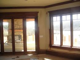 stained pine trim love the color it u0027s perfect rooms with wood