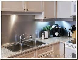 photos of kitchen backsplash best 25 stainless backsplash ideas on stainless