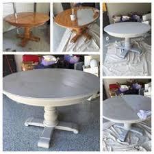 primitive u0026 proper weathered paris gray dining table using briwax