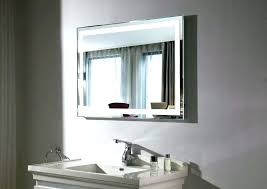 lighted bathroom wall mirror large lighted bathroom wall mirror best vanity mirrors round led mount
