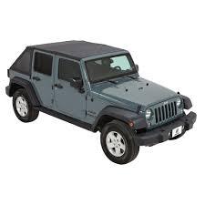 jeep wrangler 4 door bestop trektop nx black diamond complete replacement soft top
