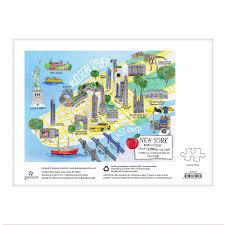 Map Central Park New York City Map 1000 Piece Puzzle Galison