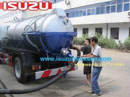 trucks for sale philippines isuzu vacuum pump sewage tanker septic water tank
