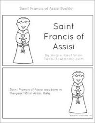 st francis of assisi printables and worksheet packet saint