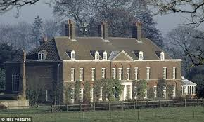 william and kate will kate and wills be handed mansion where
