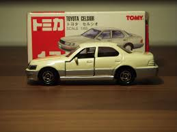 tomica toyota 1990 toyota celsior lexus ls400 1 65 diecast by tomica a photo